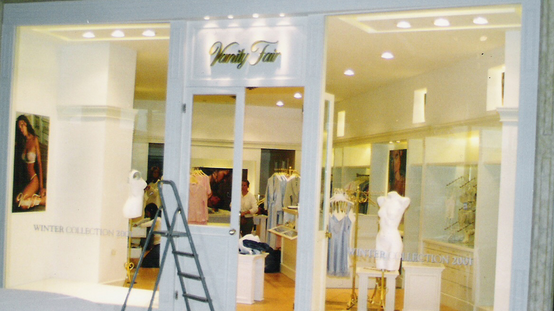 Vanity Fair: Interiorismo Locales Comerciales